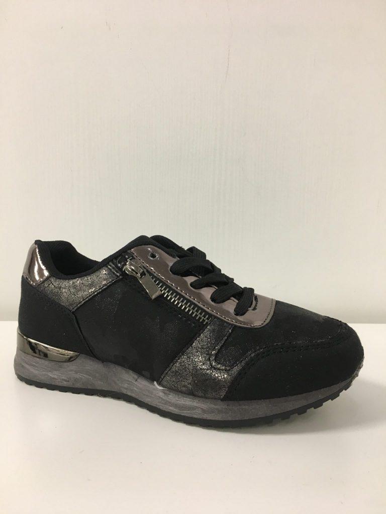 Sneaker zwart/antracite