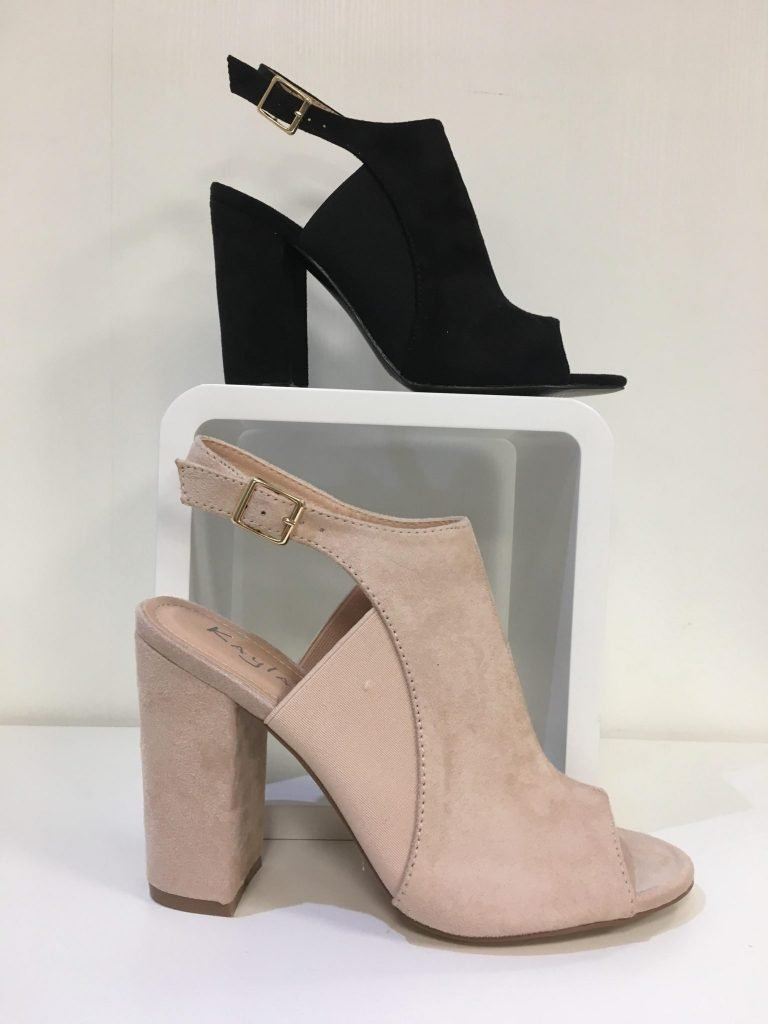 Zwarte Schoen elastiek