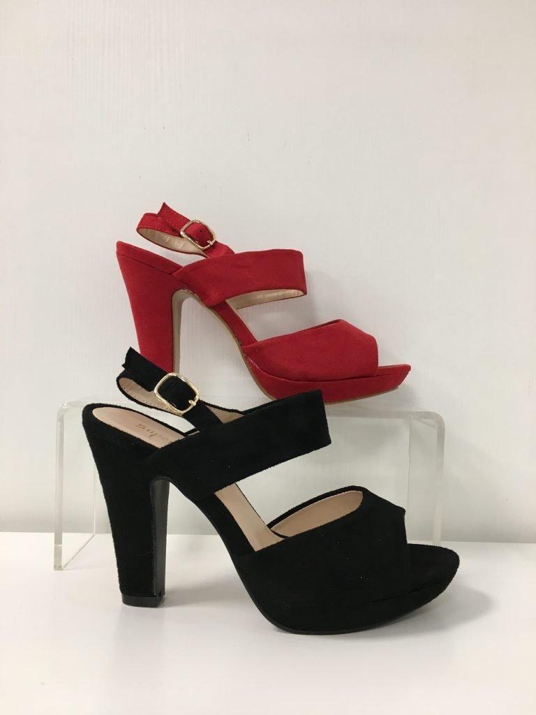 Schoen met 2 bandjes