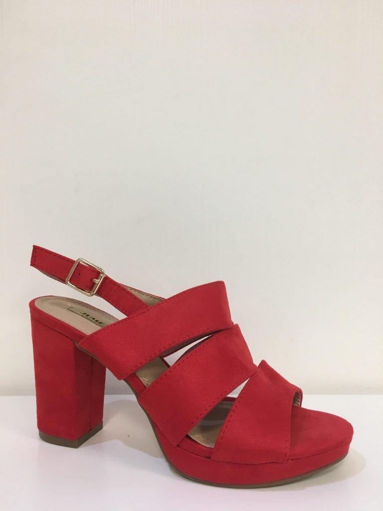Rode schoen bandjes
