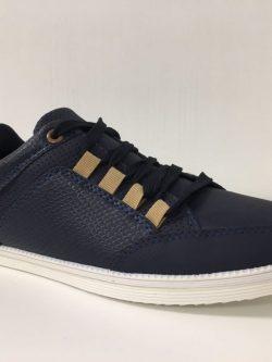Lage blauwe sneaker
