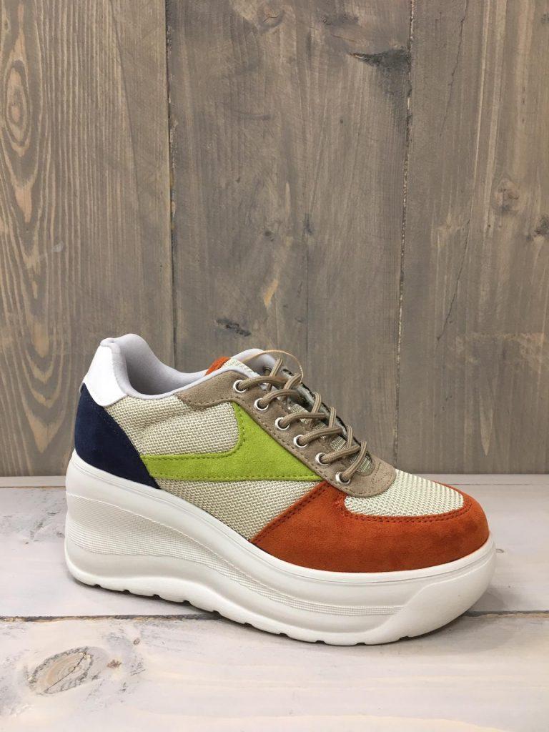 Limited chunky sneaker groen