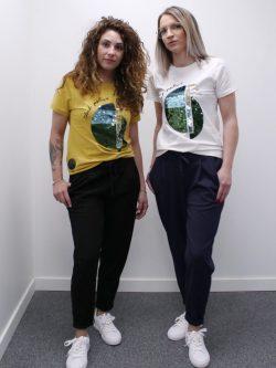 T-shirt pailletten