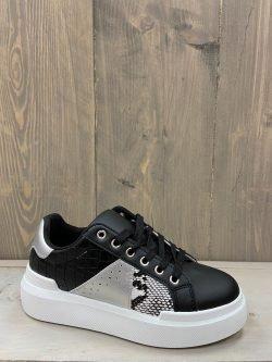 Sneaker zwart/grijs