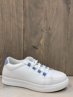 Sneaker Jeansblauw