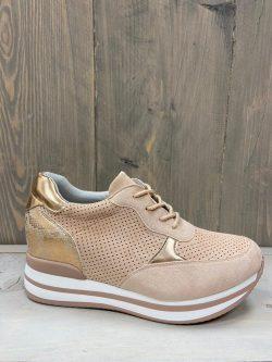 Sneaker roze/nude