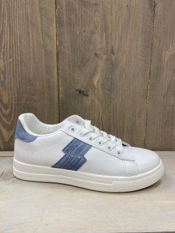 Sneaker blauw flash
