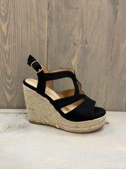 zwarte schoen amelia