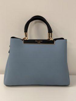 Jeansblauw handtasje Paris