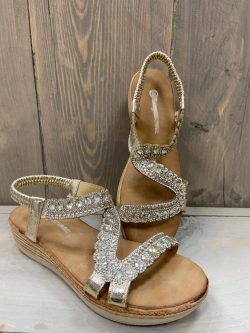 Sandaal golden