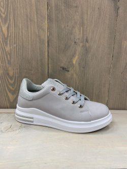 Sneaker grijs glitter