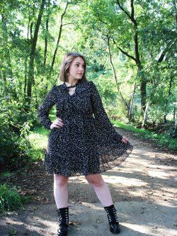 Zwart kleedje Milou