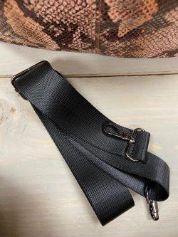 Handtas snake beige