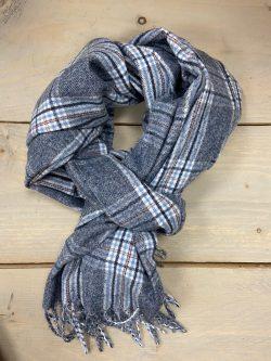 Sjaal Kelly Jeansblauw