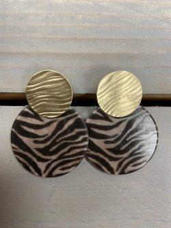 Oorbellen Zebra