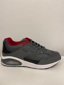 Sportschoen grijs/rood