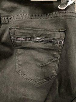 Zwarte broek Sparkle