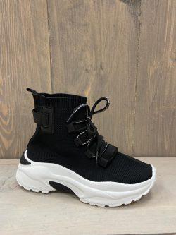 Milou Zwarte Stocking Sneaker
