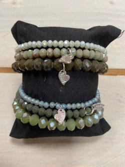 Armbandjes Groen