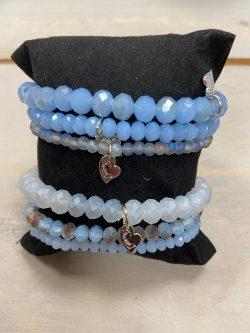 Armbandjes Hemelsblauw