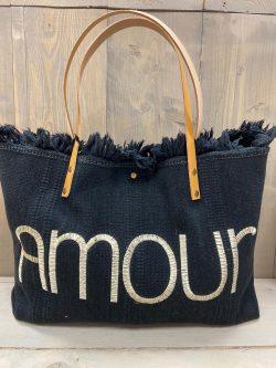 Handtasje amour zwart