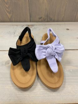 Teenslippers Bow