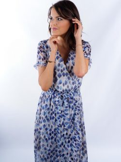 Yentl K collectie blue dress