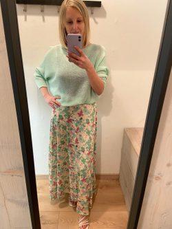 Setje FLOWER Green Hanna
