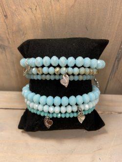 Armbandjes Blauw (3st.)