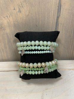 Armbandjes Green (3st.)