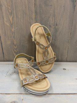 Sandaaltje Milla Goud