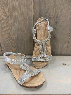 Sandaaltje Yina Zilver