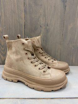 Boots Kim Donker Beige