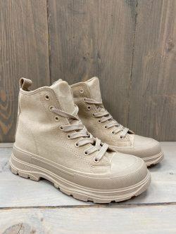 Boots Kim Beige